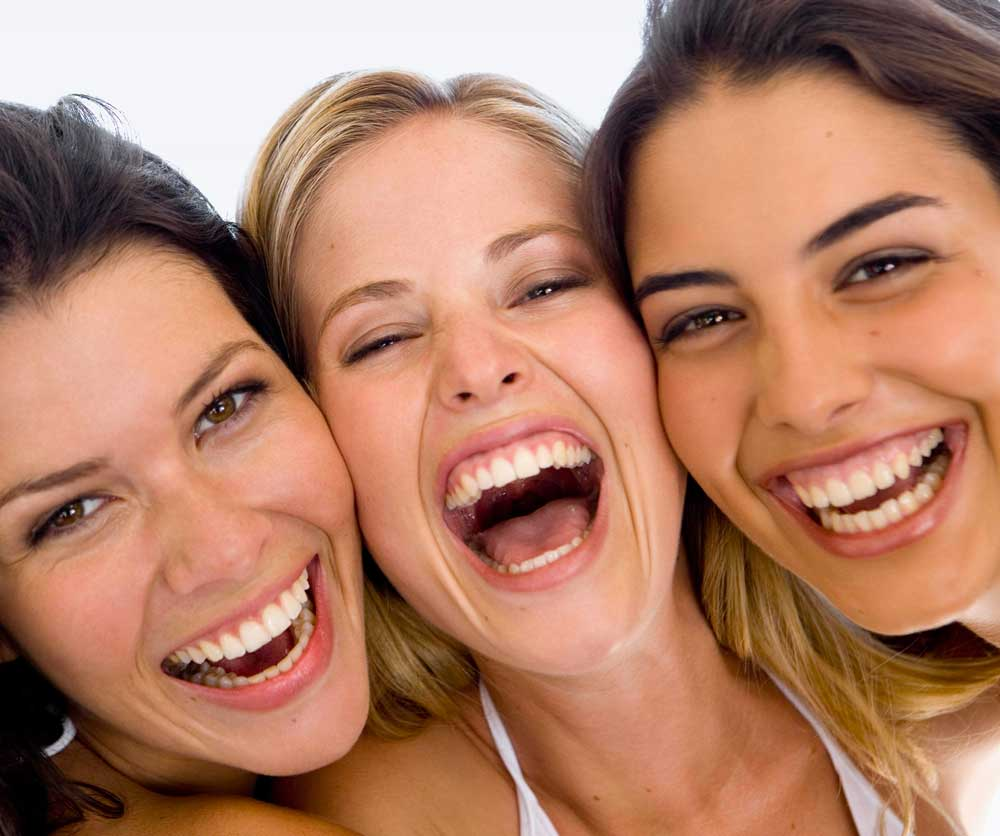 chicas felices